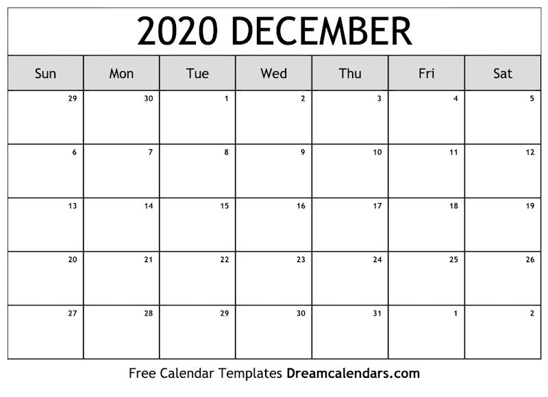 December Calendar 2020.Ko Fi Printable December 2020 Calendar Ko Fi Where Creators