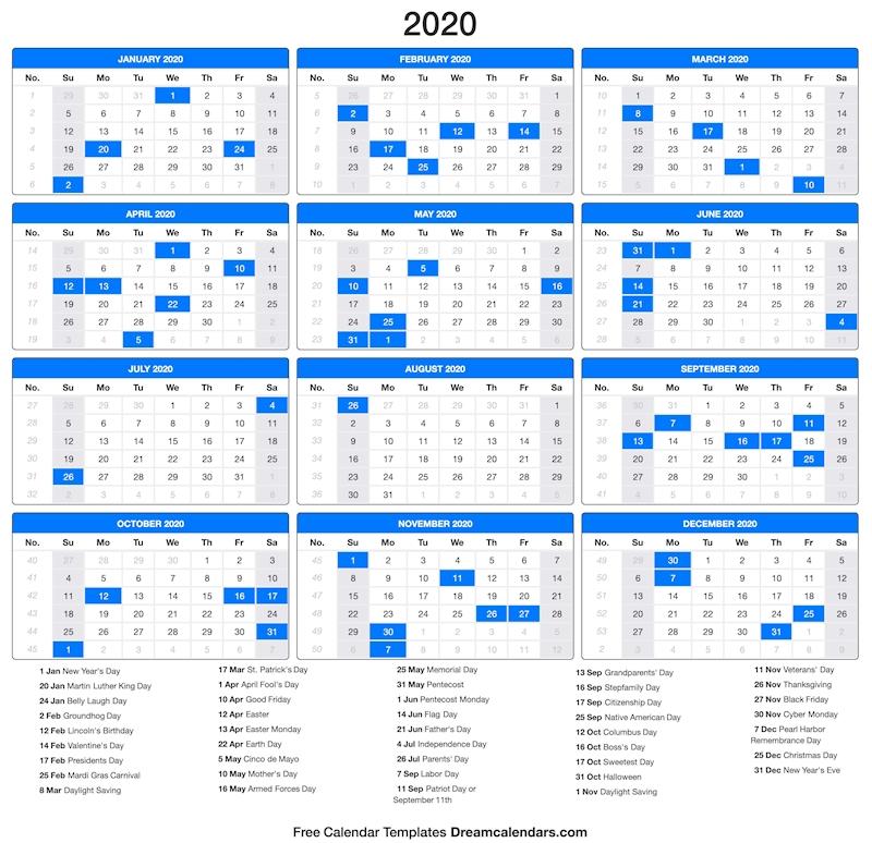 2020 2020 Calendar.Ko Fi Printable 2020 Calendar Ko Fi Where Creators Get Paid